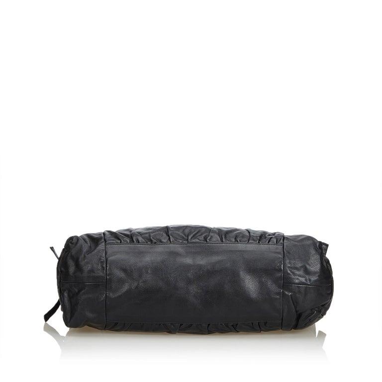 Women's Gucci Black Leather Hysteria For Sale