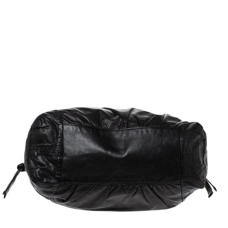 Gucci Black Leather Hysteria Hobo For Sale 1