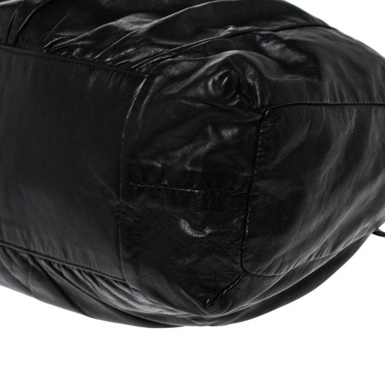 Gucci Black Leather Hysteria Hobo For Sale 3