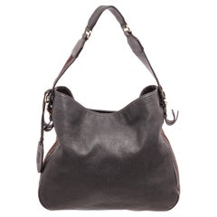 Gucci Black Leather Messenger Bag