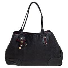Gucci Black Leather Princy Tote