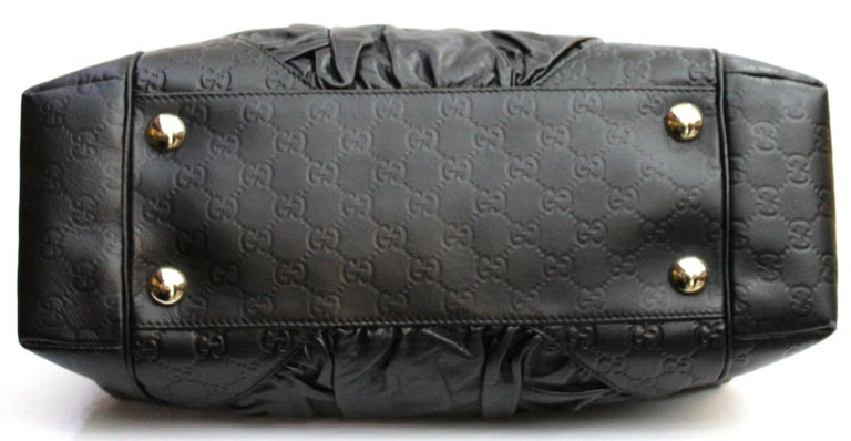 6e58113ca6060b Gucci Black Leather Shoulder Bag In Excellent Condition For Sale In Torre  Del Greco, IT