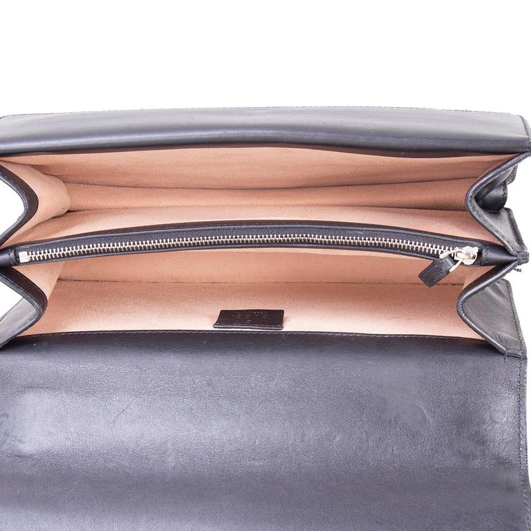 Women's GUCCI black leather STUDDED DIONYSUS SMALL Shoulder Bag For Sale