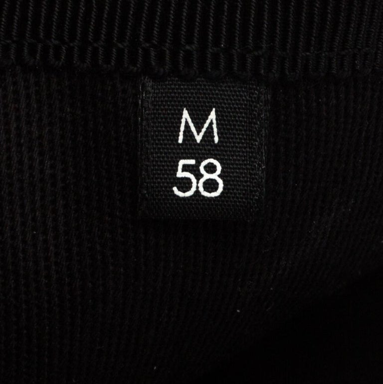 Gucci Black Loved Embroidered Canvas Baseball Cap M For Sale 1