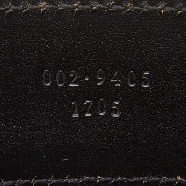 Gucci Black Mesh Tote For Sale 3