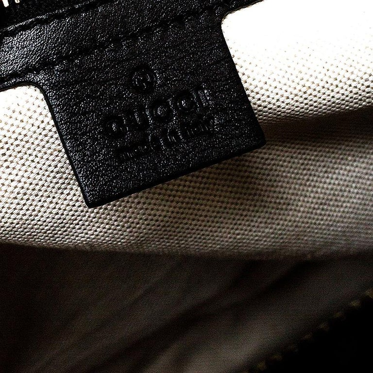 Gucci Black Microguccissima Patent Leather Large Nice Satchel For Sale 3