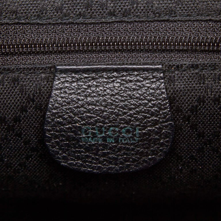 c8840c9a0792 Gucci Black Mini Bamboo Suede Leather Backpack For Sale at 1stdibs