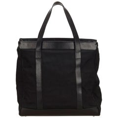 Gucci Black Nylon Business Bag