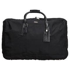 Gucci Black Nylon Duffle Bag