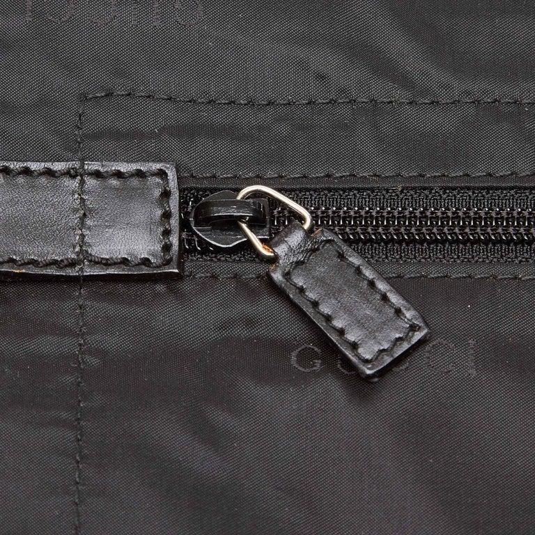 e91f98caca5 Gucci Black Nylon Garment Bag at 1stdibs