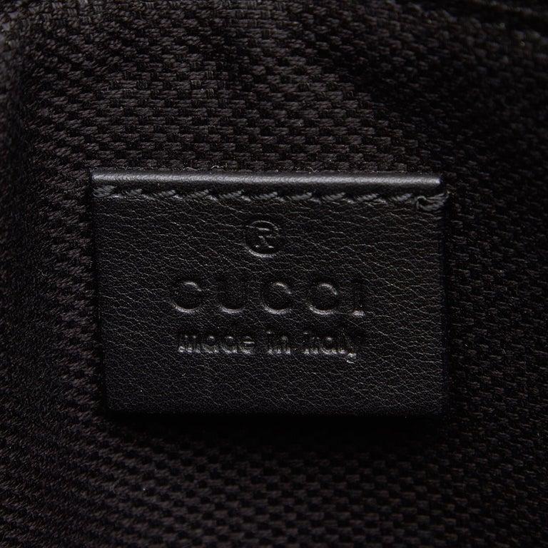 Gucci Black Patent Leather Leather Soho Cellarius Mouton Tote Italy 2