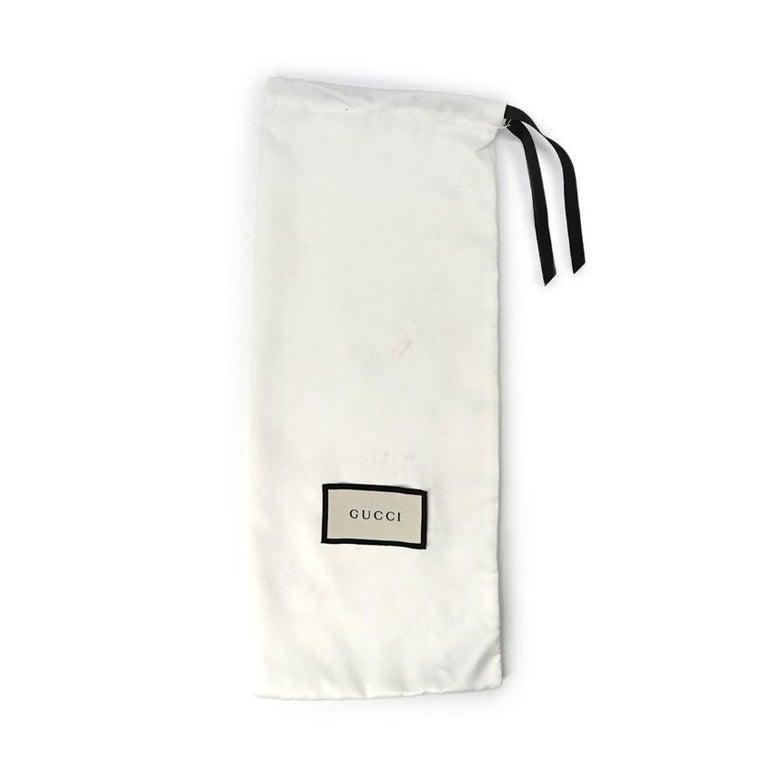 Gucci Black Princeton Horsebit Leather Backless Loafer US 7 For Sale 6