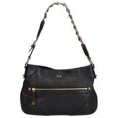 Gucci Black Small Capri Shoulder Bag