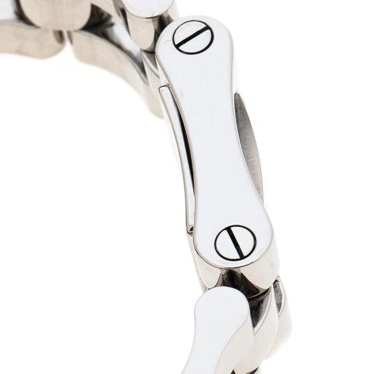 343b8abdfe8 Gucci Black Stainless Steel 6305L Women s Wristwatch 17 mm For Sale ...