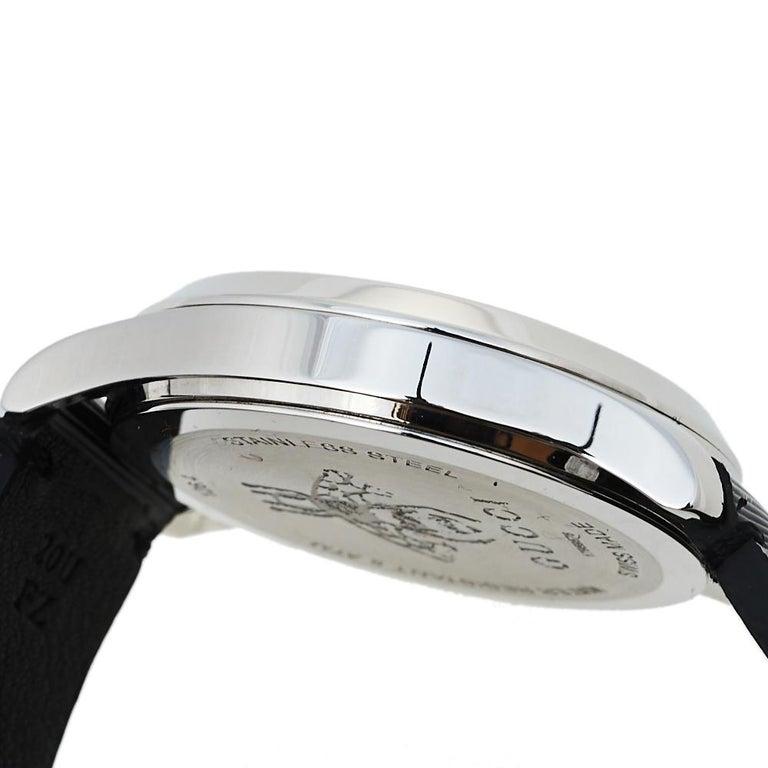 Gucci Black Stainless Steel Bee G-Timeless YA1264105 Women's Wristwatch 38 mm  4