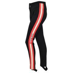 Gucci black stirrup pant