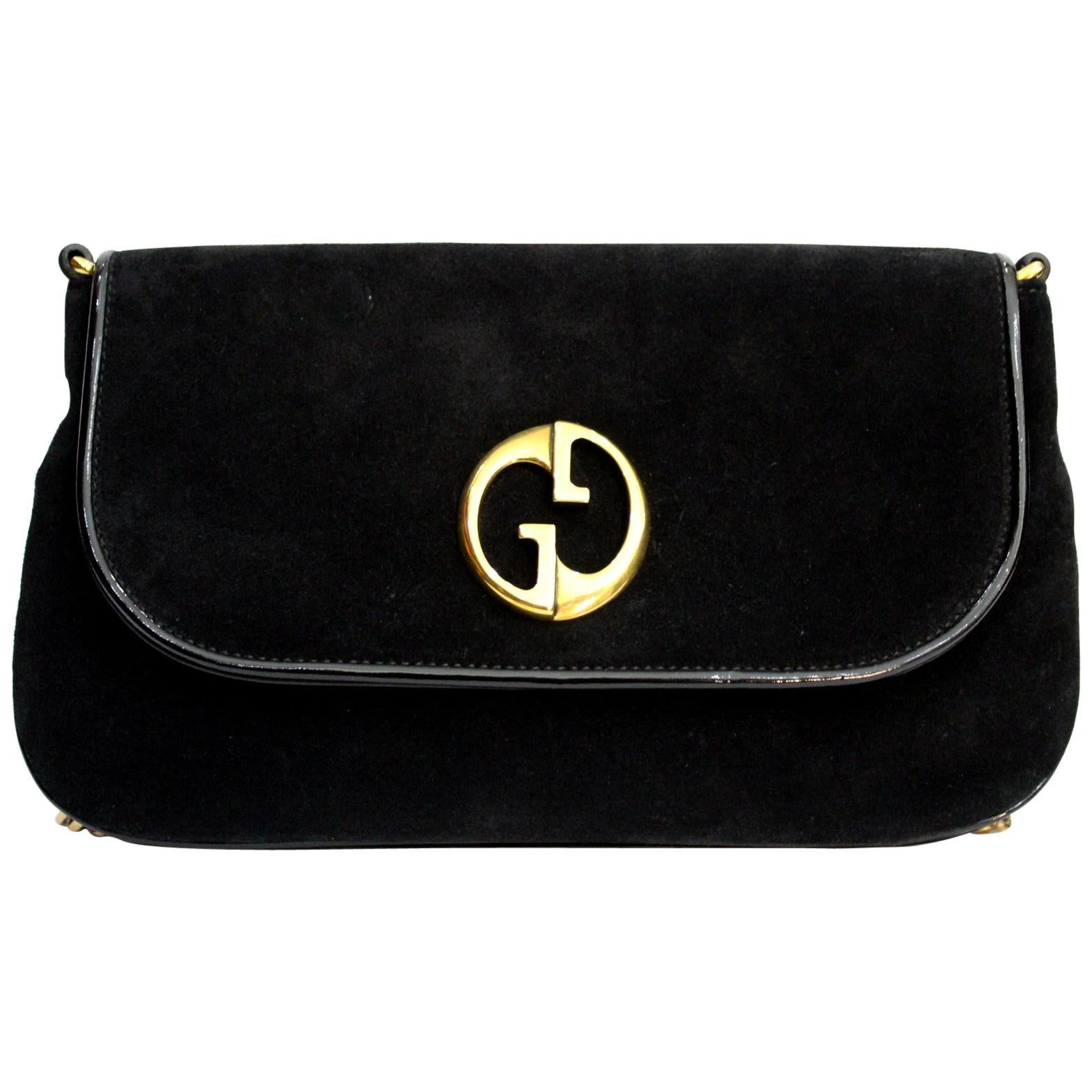 2391994c207c Gucci GG Marmont velvet shoulder bag at 1stdibs