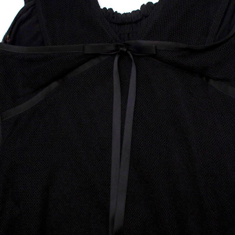 Gucci black-tulle gown - Size US 4 In Excellent Condition For Sale In London, GB