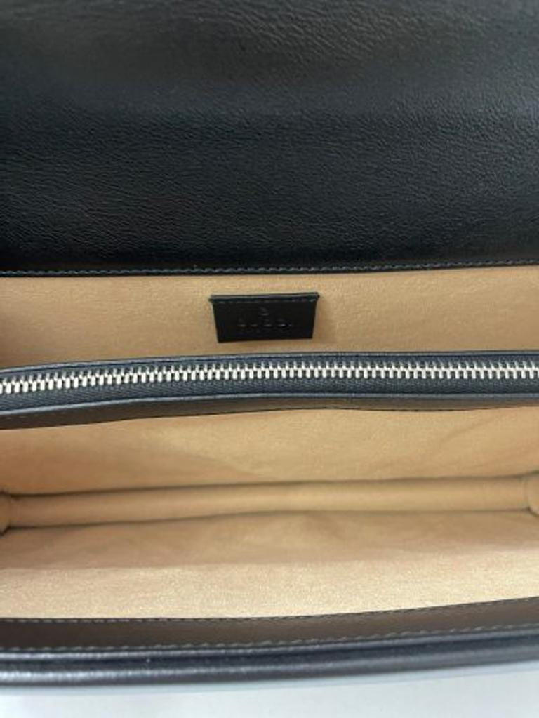 Gucci Black Tweed Dionysus Shoulder Bag  For Sale 7