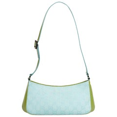 7ff878f1c Gucci Blue Leather Medium Soho Chain Shoulder Bag For Sale at 1stdibs