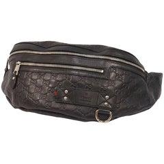 GUCCI body bag GG Ssima Womens Waist bag 246409 black