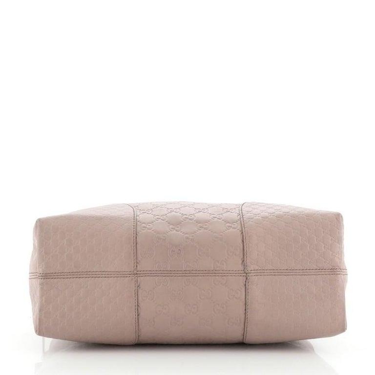 Gucci Bree Dome Tote Guccissima Leather Medium In Good Condition In New York, NY