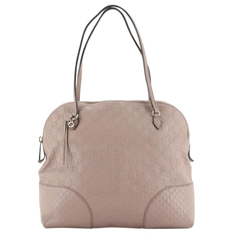 Gucci Bree Dome Tote Guccissima Leather Medium
