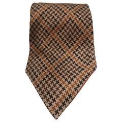 Gucci brige multicoloured silk tie
