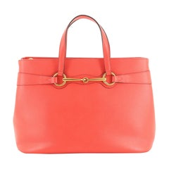 Gucci Bright Bit Convertible Tote Leather Medium
