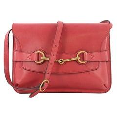 Gucci Bright Bit Shoulder Bag Leather