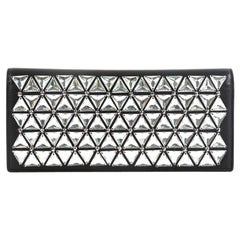 Gucci Broadway Clutch Embellished Leather Long