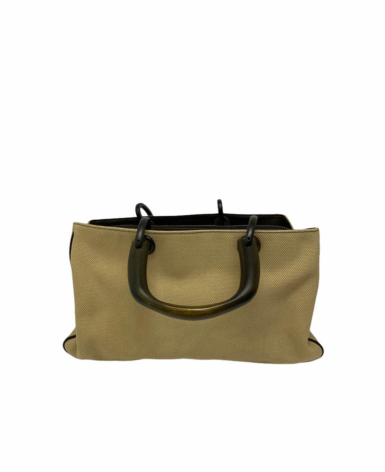 Gucci Brown Canvas Bag  In Good Condition For Sale In Torre Del Greco, IT