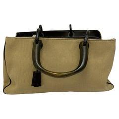 Gucci Brown Canvas Bag