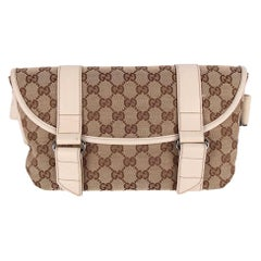 Gucci Brown GG Canvas Fanny Pack Belt Bag