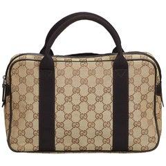 Gucci Brown Guccissima Canvas Handbag