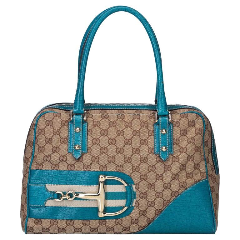 eea33250959 Gucci Brown Guccissima Horsebit Shoulder Bag at 1stdibs
