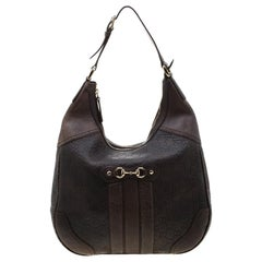 Gucci Brown Guccissima Leather Catherine Hobo