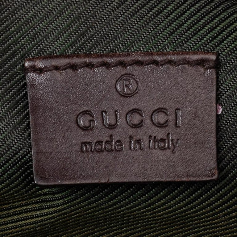 Women's Gucci Brown Guccissima Leather Pouch For Sale
