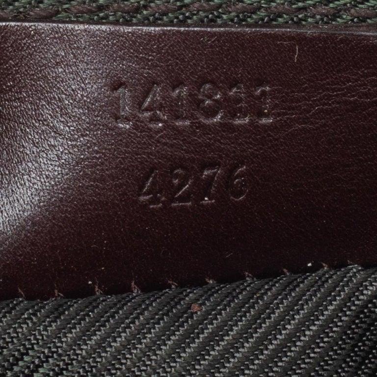 Gucci Brown Guccissima Leather Pouch For Sale 2