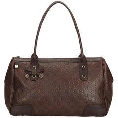 Gucci Brown Guccissima Leather Princy Handbag