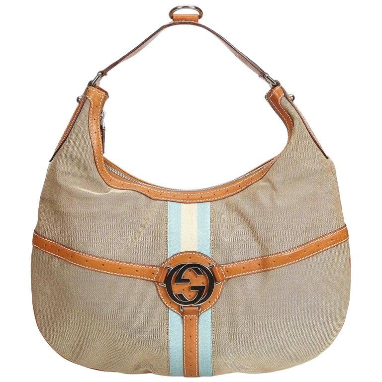 8c4b31e7a29 Gucci Brown Hobo Handbag - Handbag Photos Eleventyone.Org