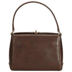 Gucci Brown Leather Handbag