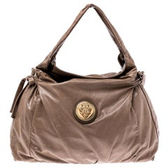 Gucci Brown Leather Hysteria Medium Hobo