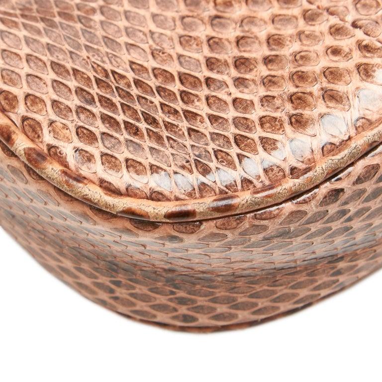 Gucci Brown Leather Jackie Shoulder Bag For Sale 4