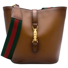 Gucci Brown Ombre 'Jackie' Bucket Bag
