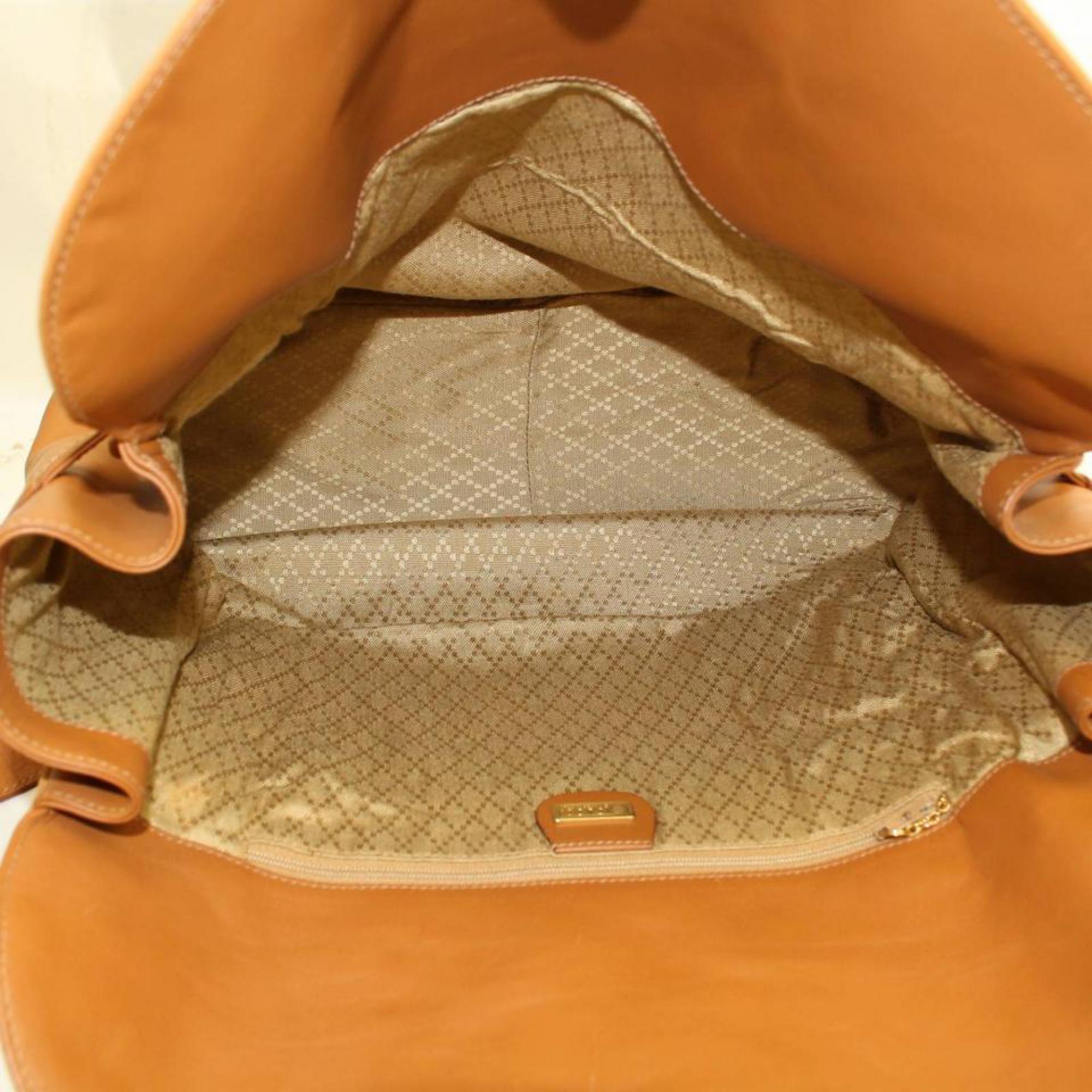 9864f2d5cf91 Gucci Burnt Orange Flap Over Shoulder 868421 Suede Leather Weekend/Travel  Bag For Sale at 1stdibs
