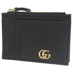 GUCCI business card case  tiny coin case  coin case unisex card case 574804 blac