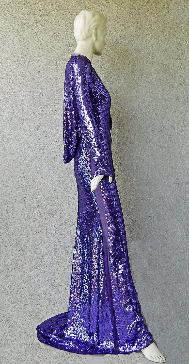 Purple Gucci by Tom Ford Rare 2004 Runway