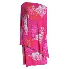 Gucci by Tom Ford Silk One Shoulder Dress