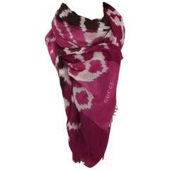 Gucci cachemire scarf -shawl - foulard